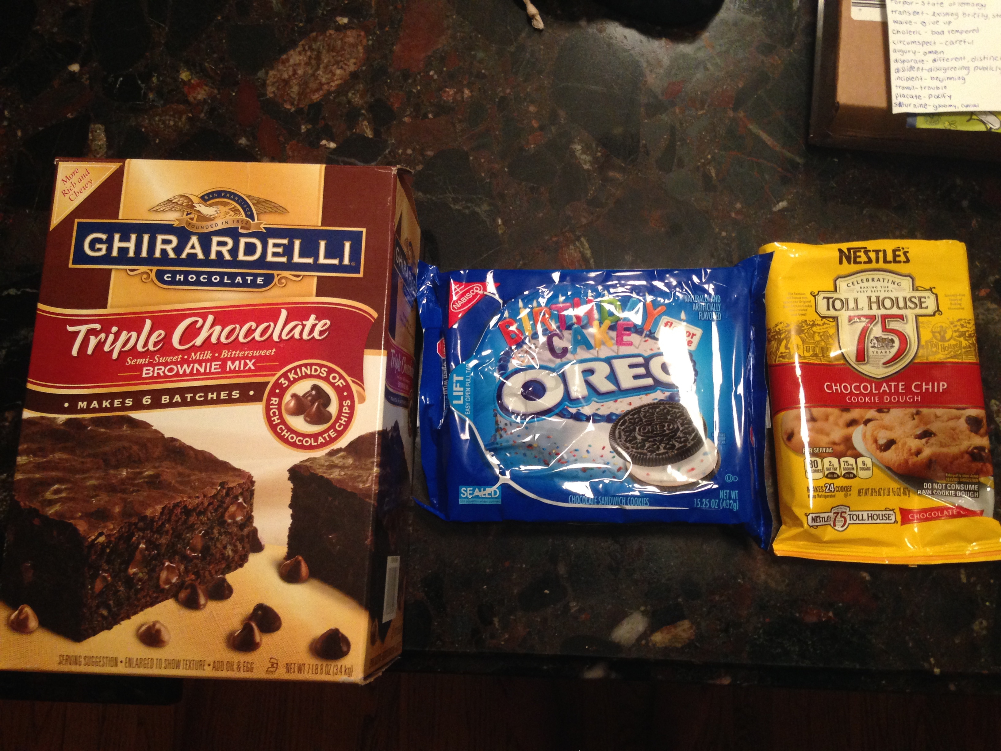 Ghirardelli chocolate brownie mix cookie recipe